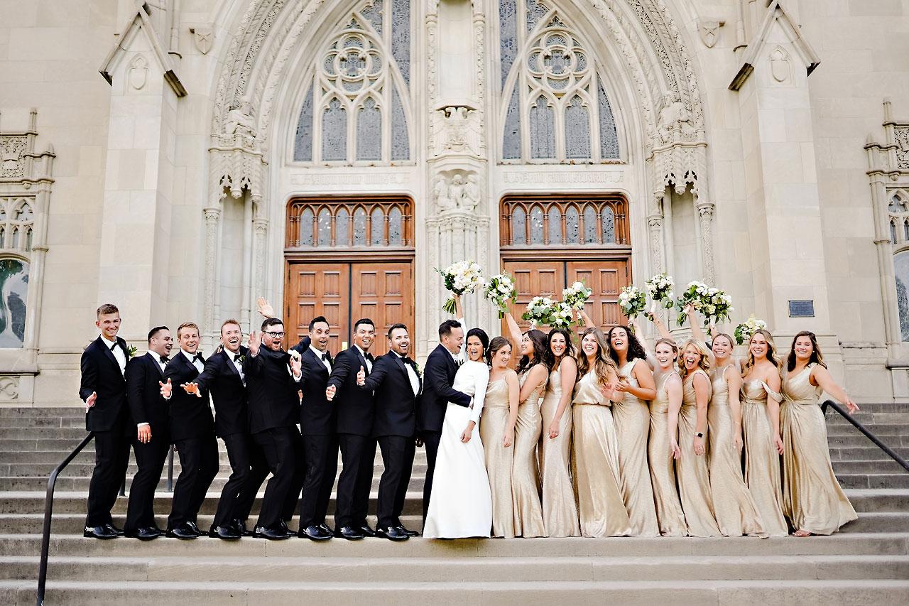Kaitlin Collin Scottish Rite Indianapolis Wedding 241
