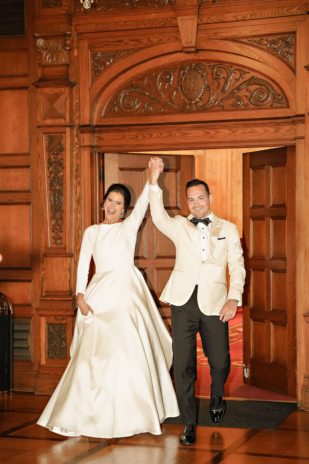 Kaitlin Collin Scottish Rite Indianapolis Wedding 276