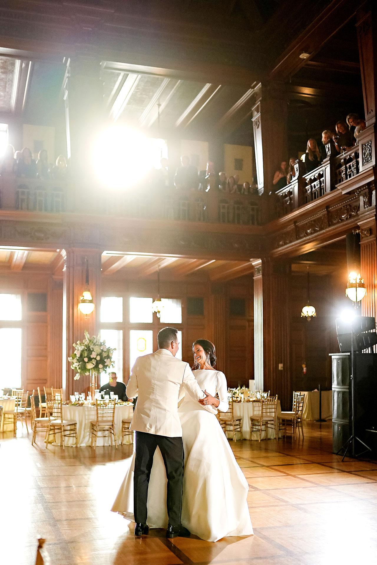 Kaitlin Collin Scottish Rite Indianapolis Wedding 279