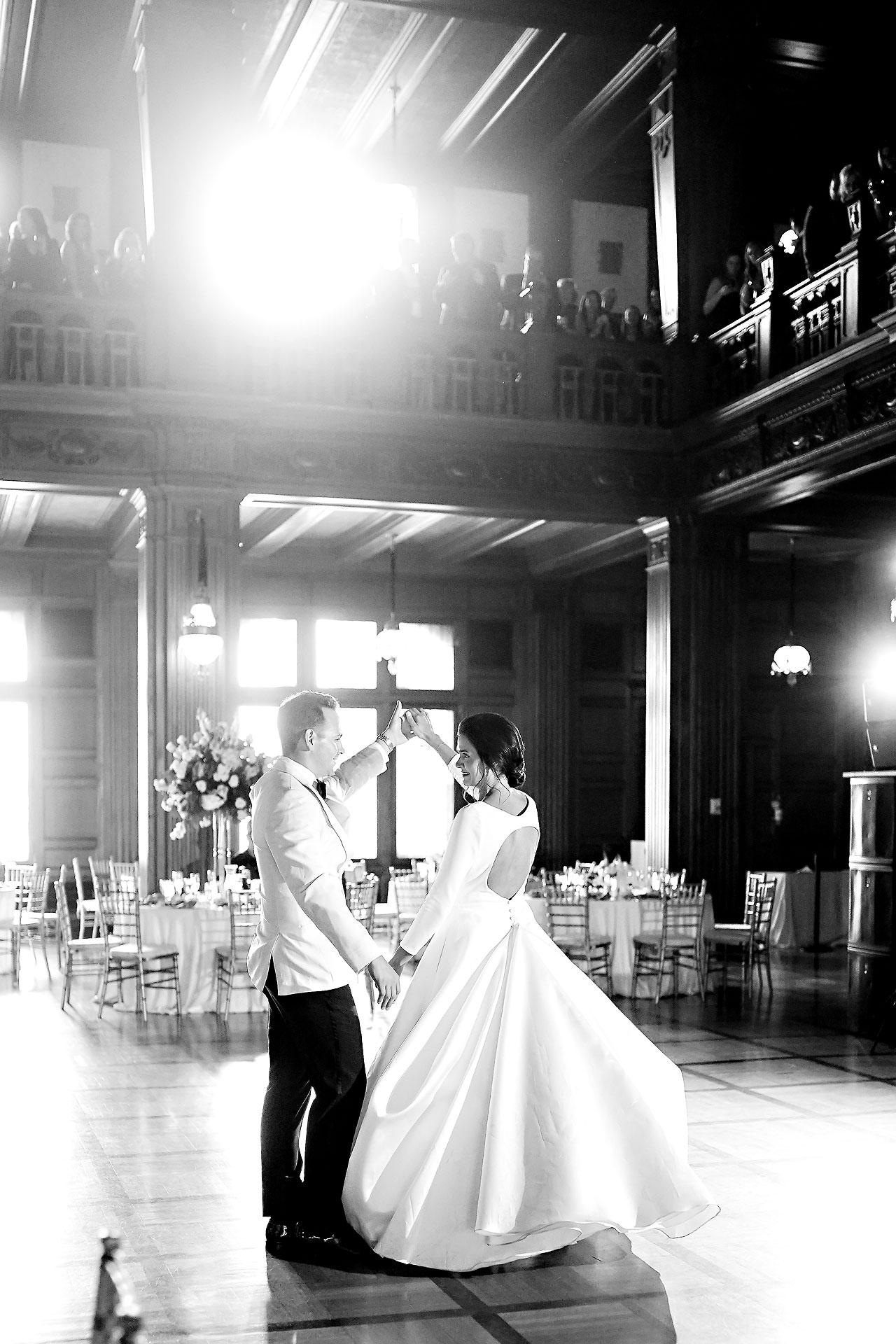 Kaitlin Collin Scottish Rite Indianapolis Wedding 283