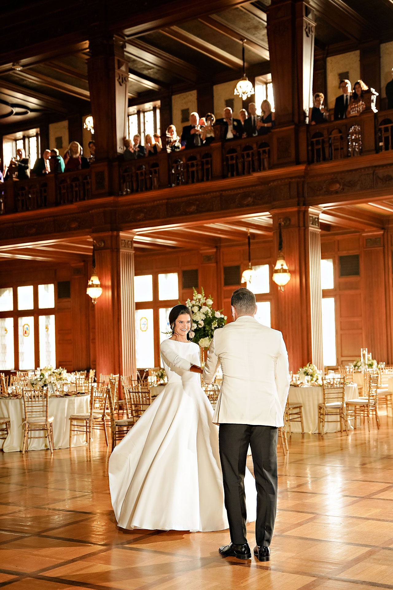Kaitlin Collin Scottish Rite Indianapolis Wedding 286