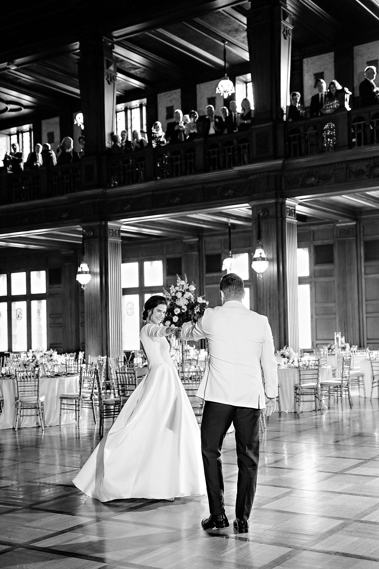 Kaitlin Collin Scottish Rite Indianapolis Wedding 287