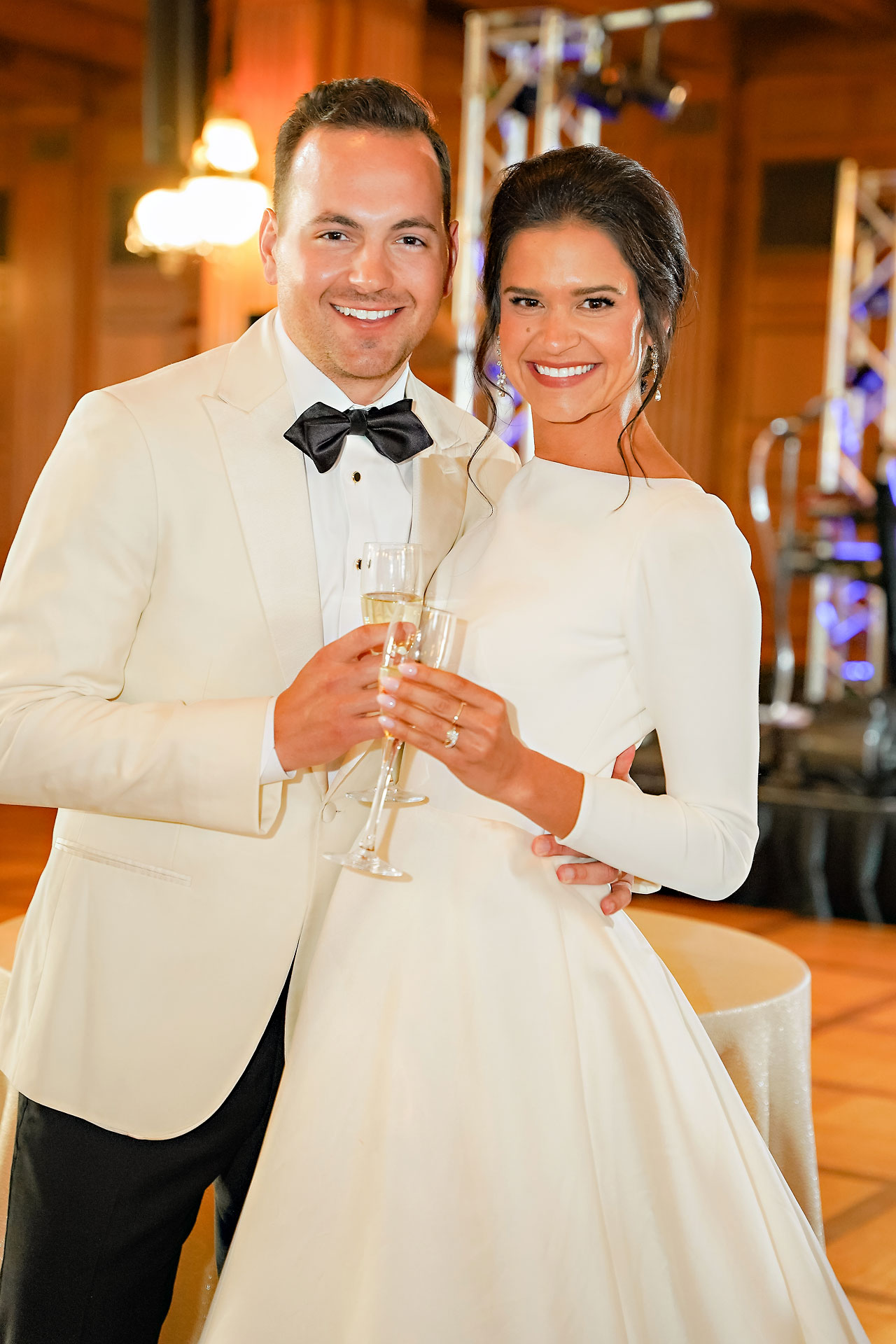 Kaitlin Collin Scottish Rite Indianapolis Wedding 295