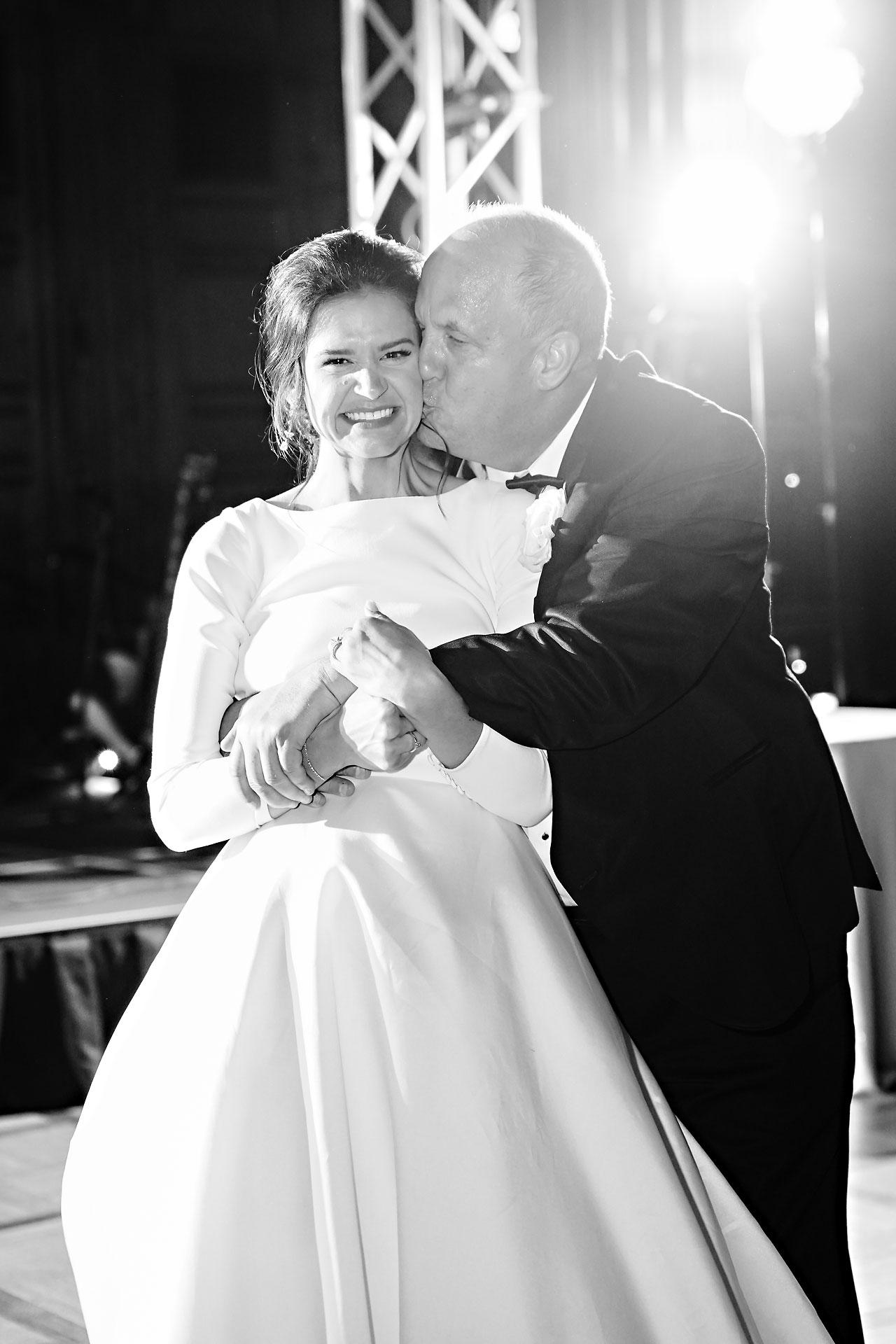 Kaitlin Collin Scottish Rite Indianapolis Wedding 315