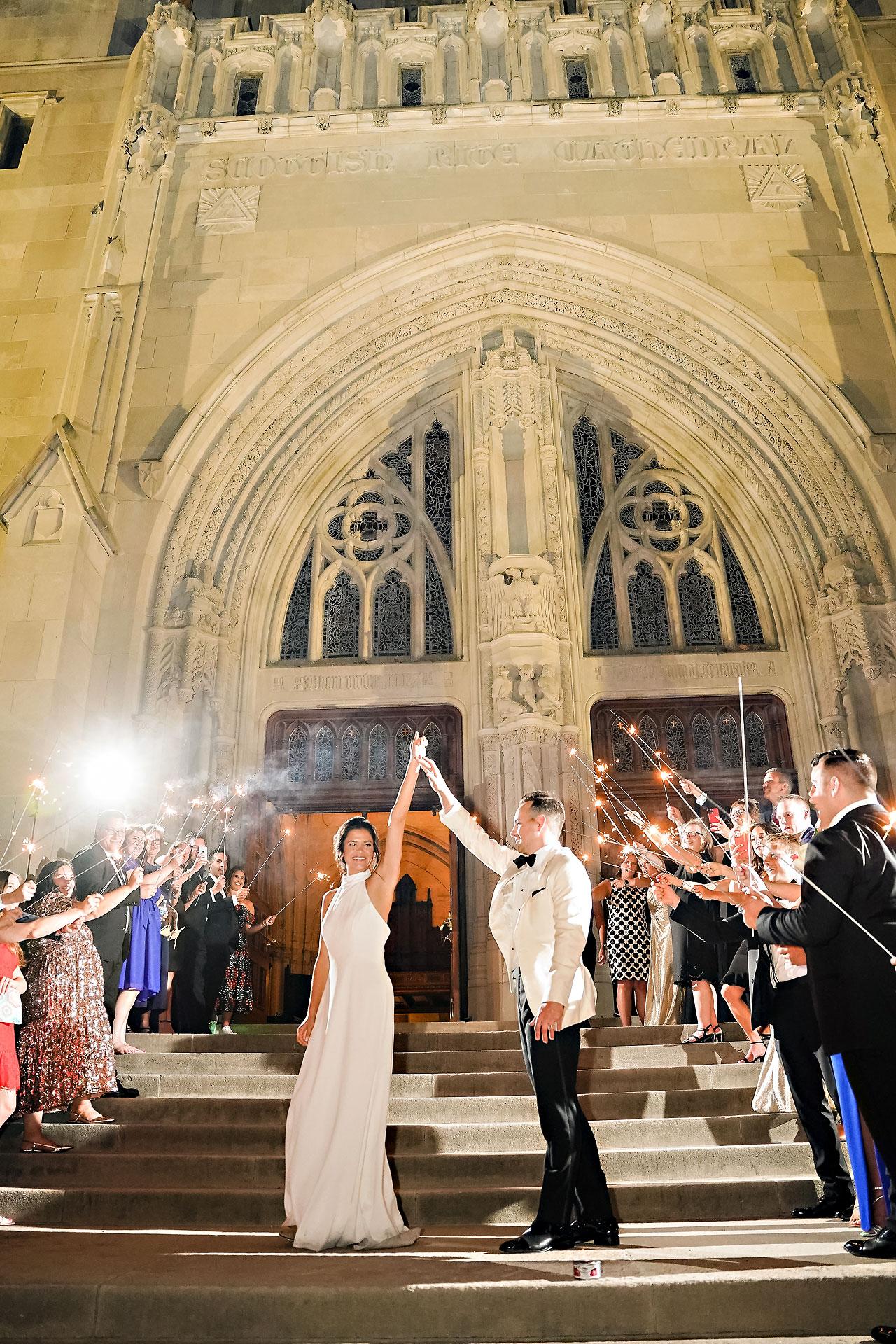 Kaitlin Collin Scottish Rite Indianapolis Wedding 378