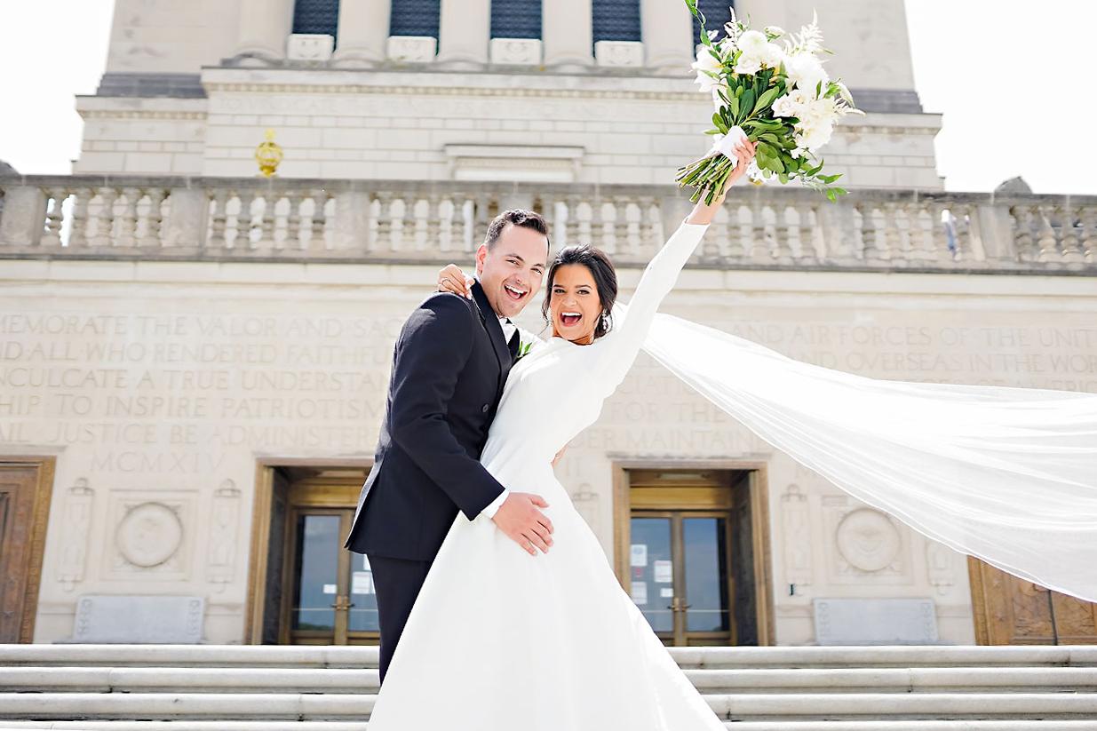 KAITLIN + COLLIN | SCOTTISH RITE INDIANAPOLIS WEDDING