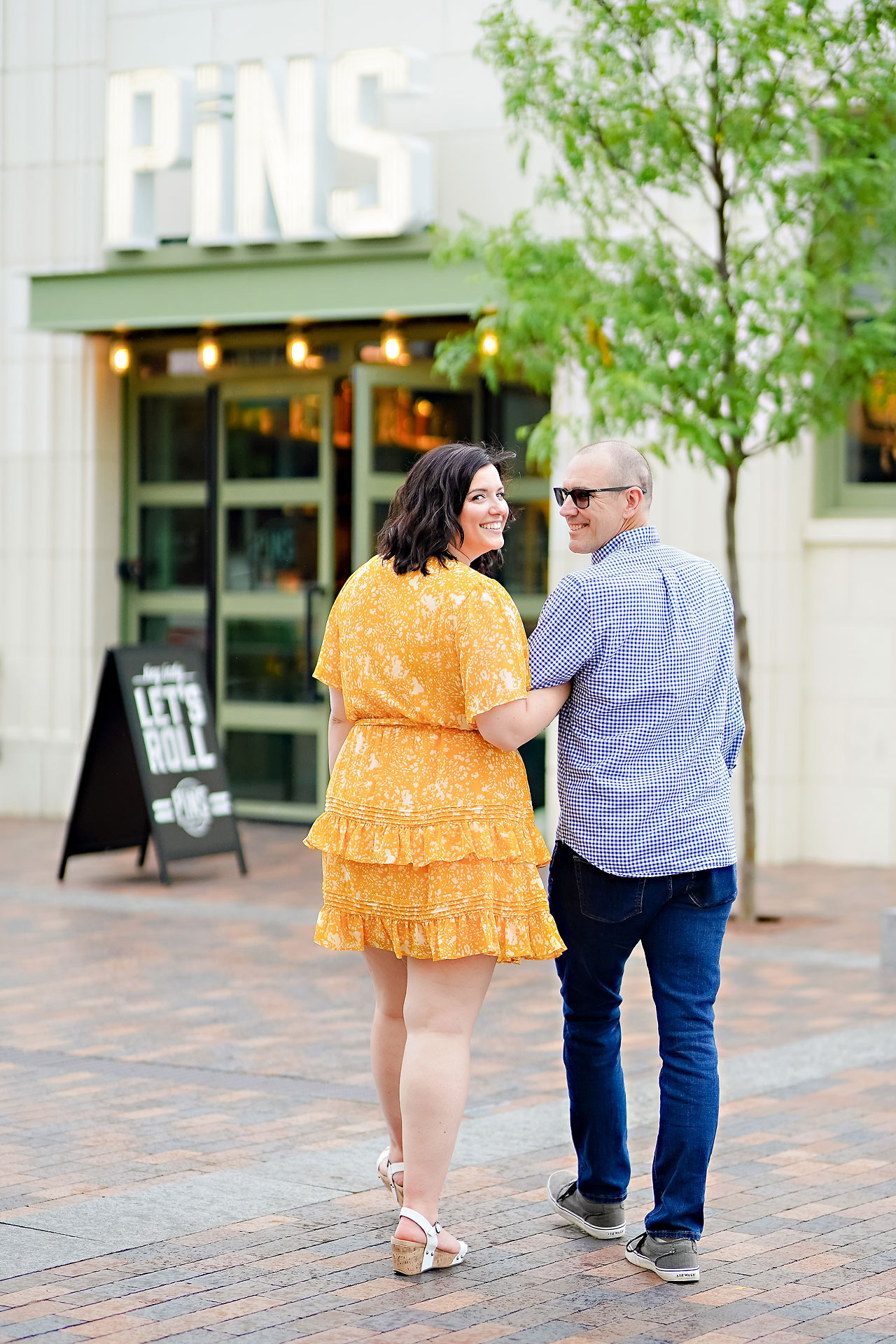 Katie Chuck Bottleworks Canal Indianapolis Engagement Session 003
