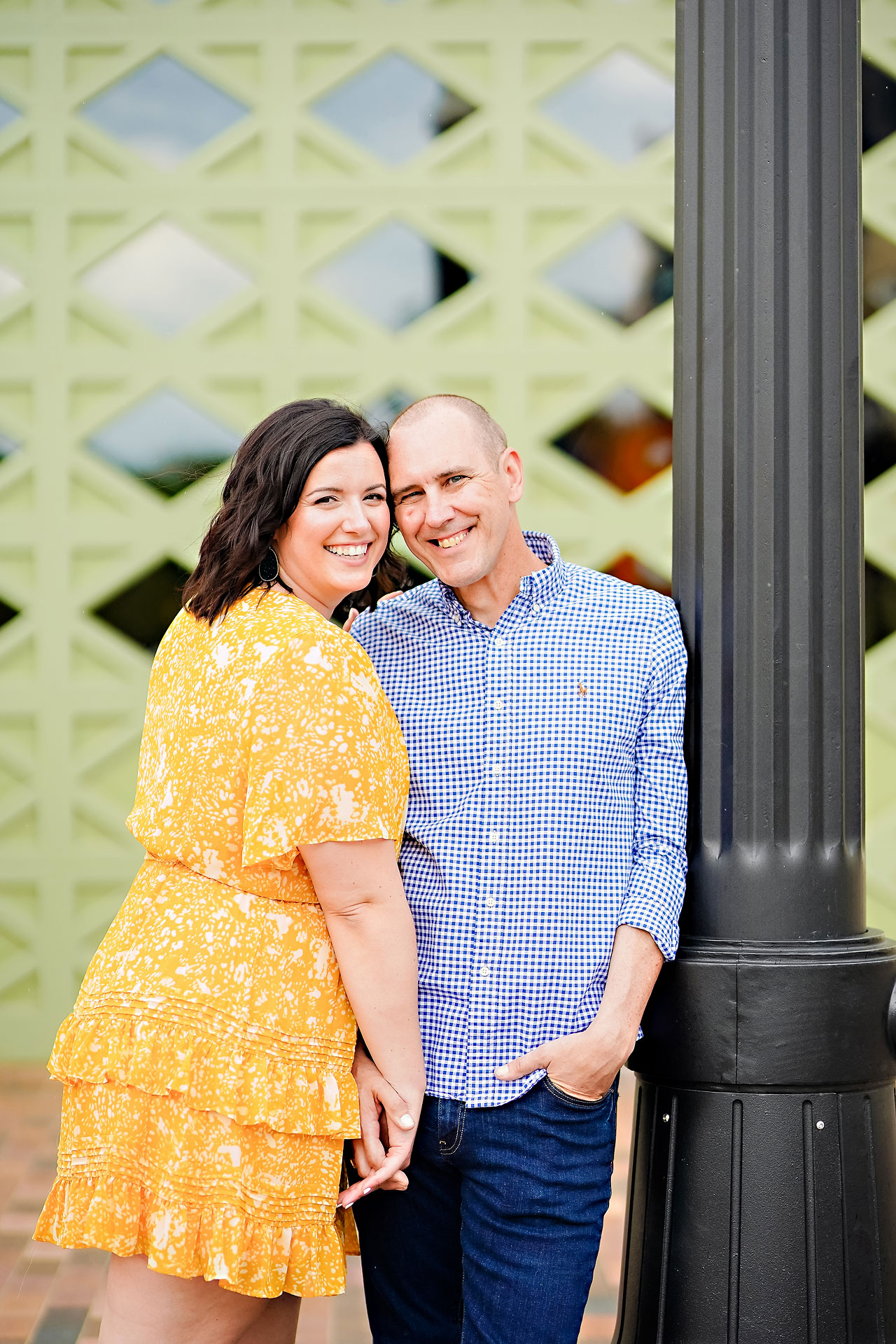Katie Chuck Bottleworks Canal Indianapolis Engagement Session 005