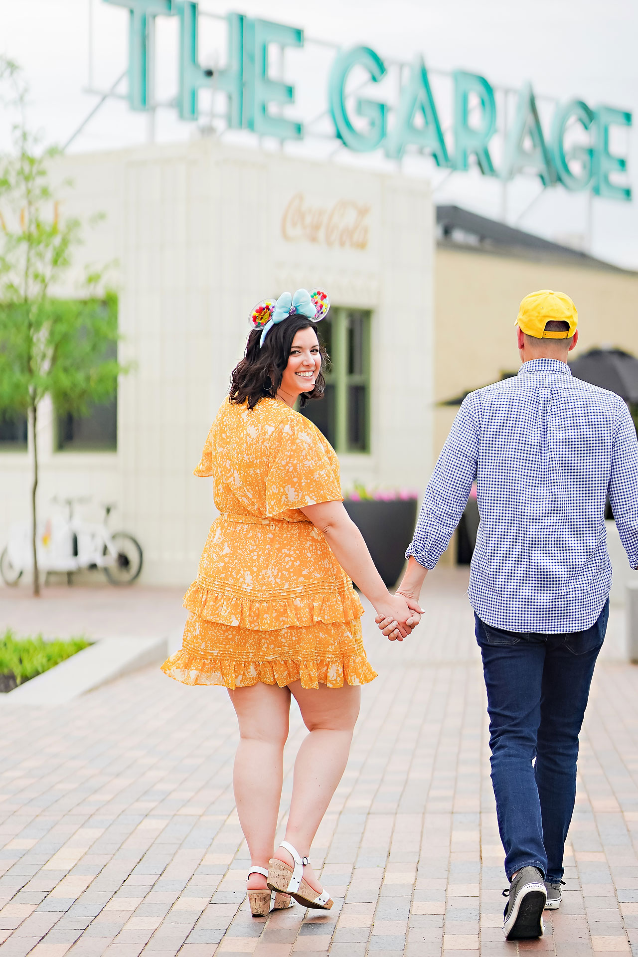 Katie Chuck Bottleworks Canal Indianapolis Engagement Session 018