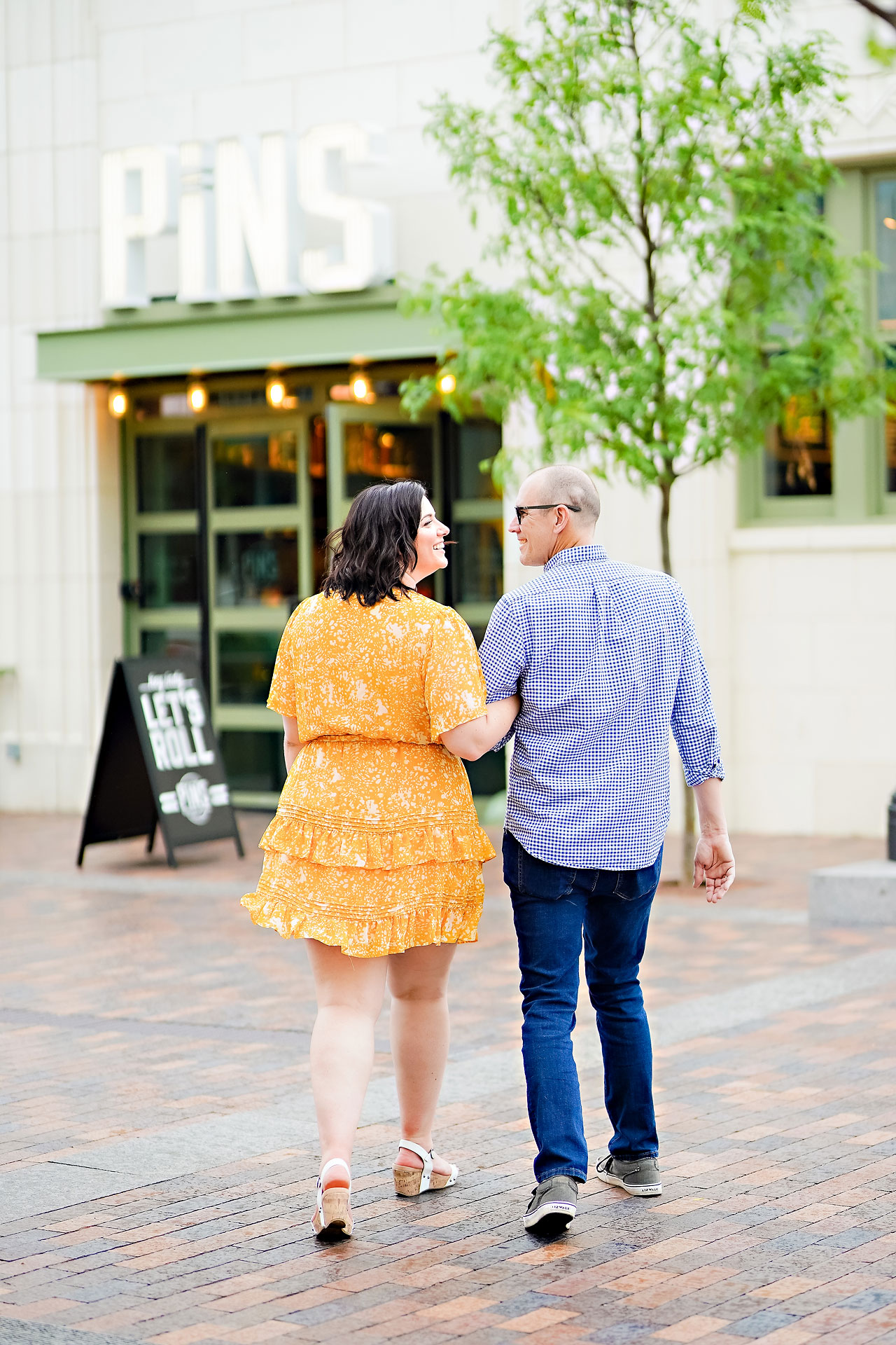 Katie Chuck Bottleworks Canal Indianapolis Engagement Session 022