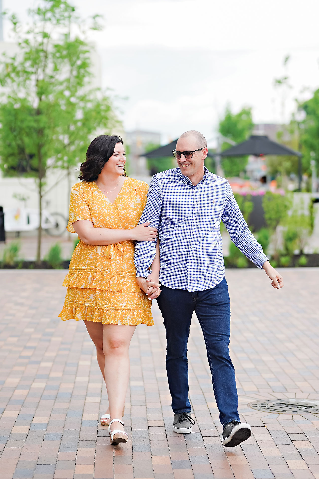 Katie Chuck Bottleworks Canal Indianapolis Engagement Session 024