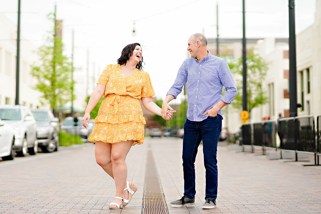 Katie Chuck Bottleworks Canal Indianapolis Engagement Session 031