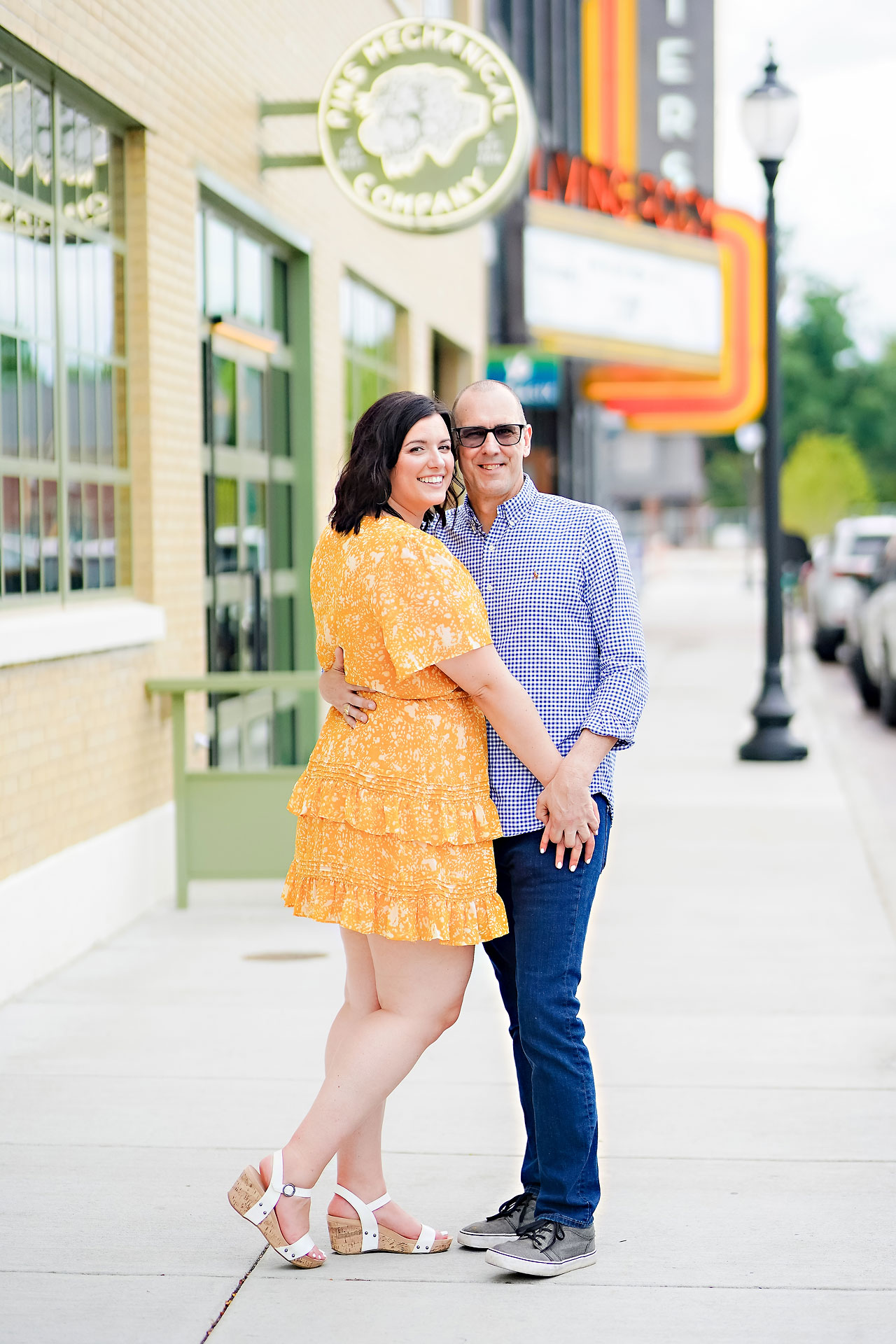 Katie Chuck Bottleworks Canal Indianapolis Engagement Session 036