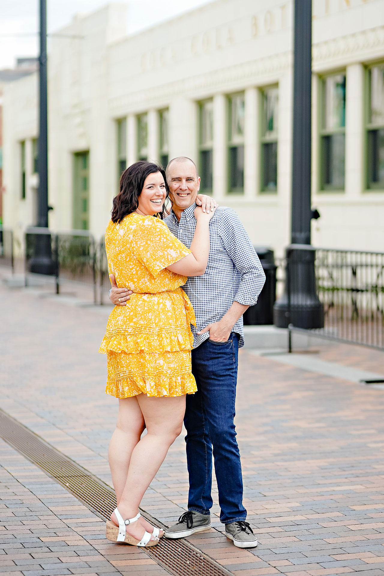 Katie Chuck Bottleworks Canal Indianapolis Engagement Session 038