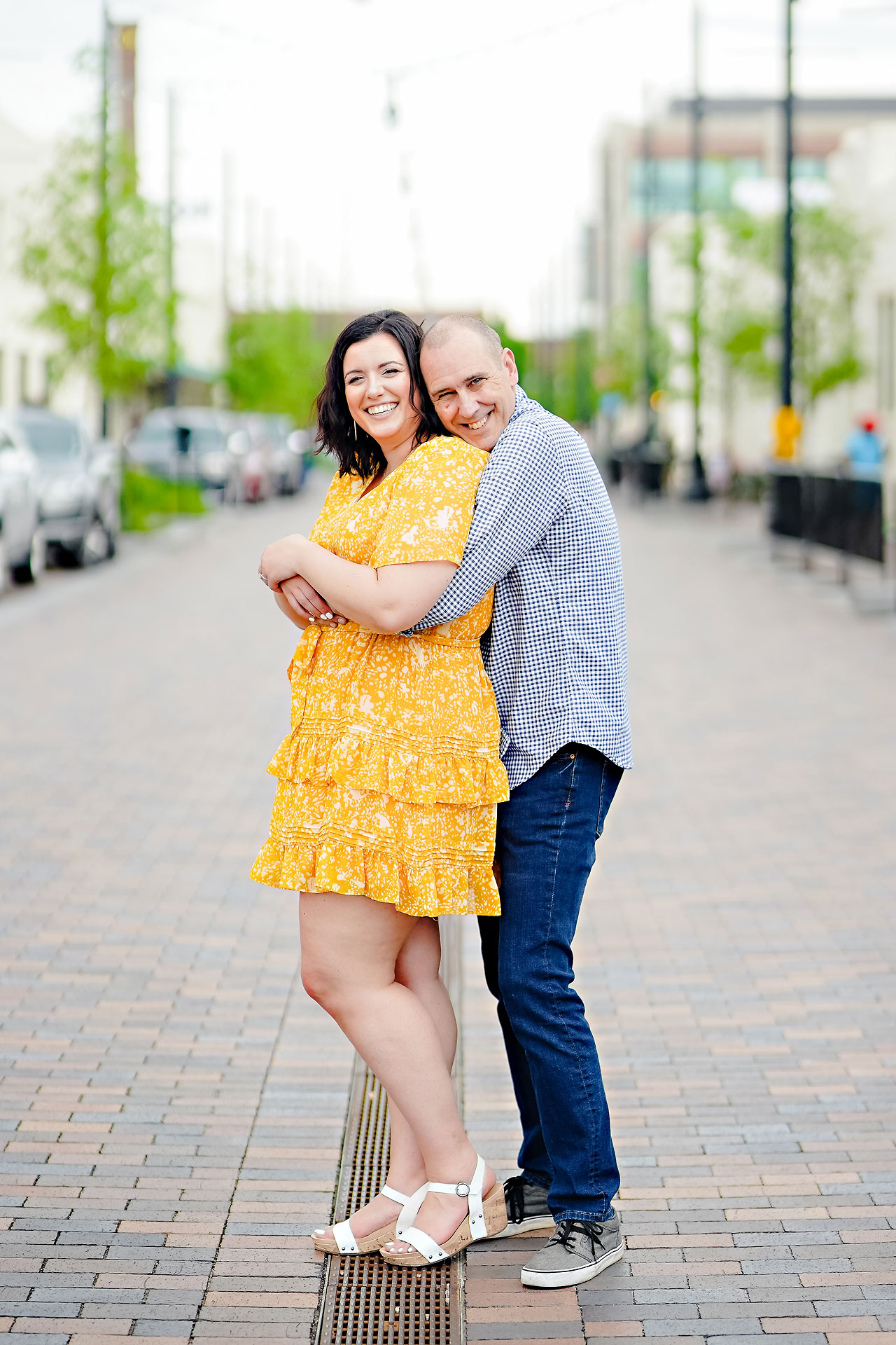Katie Chuck Bottleworks Canal Indianapolis Engagement Session 040