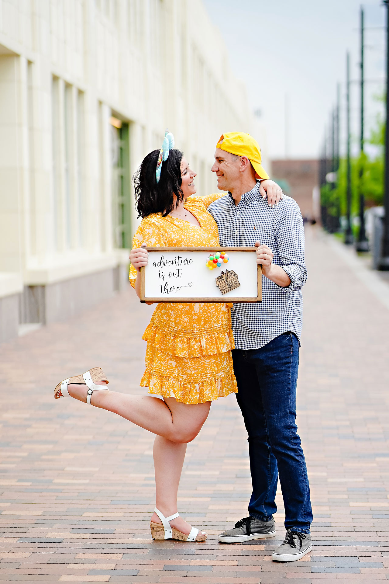 Katie Chuck Bottleworks Canal Indianapolis Engagement Session 042