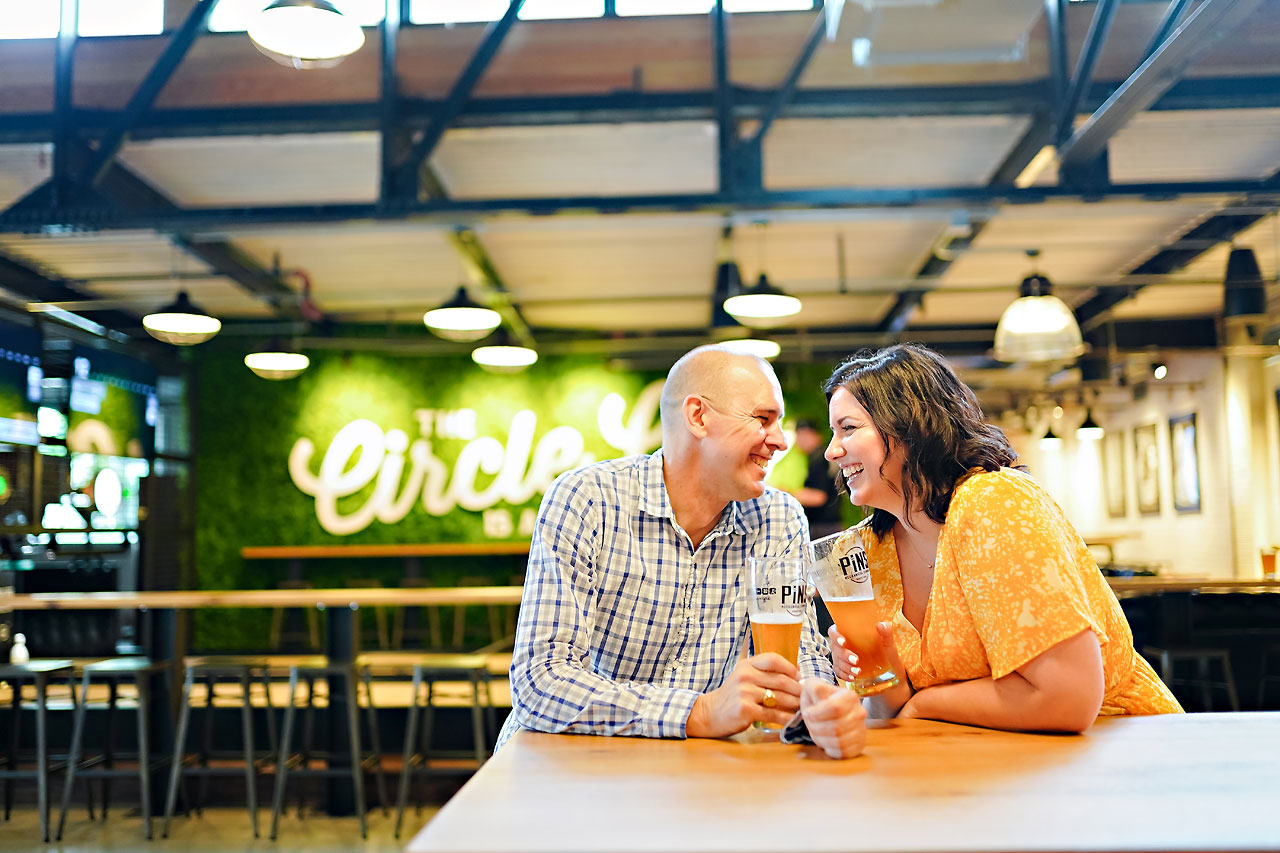 Katie Chuck Bottleworks Canal Indianapolis Engagement Session 055