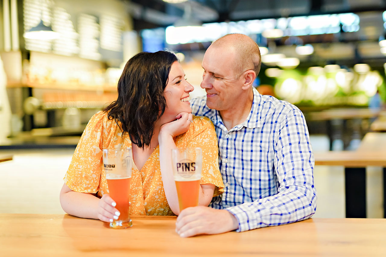 Katie Chuck Bottleworks Canal Indianapolis Engagement Session 062