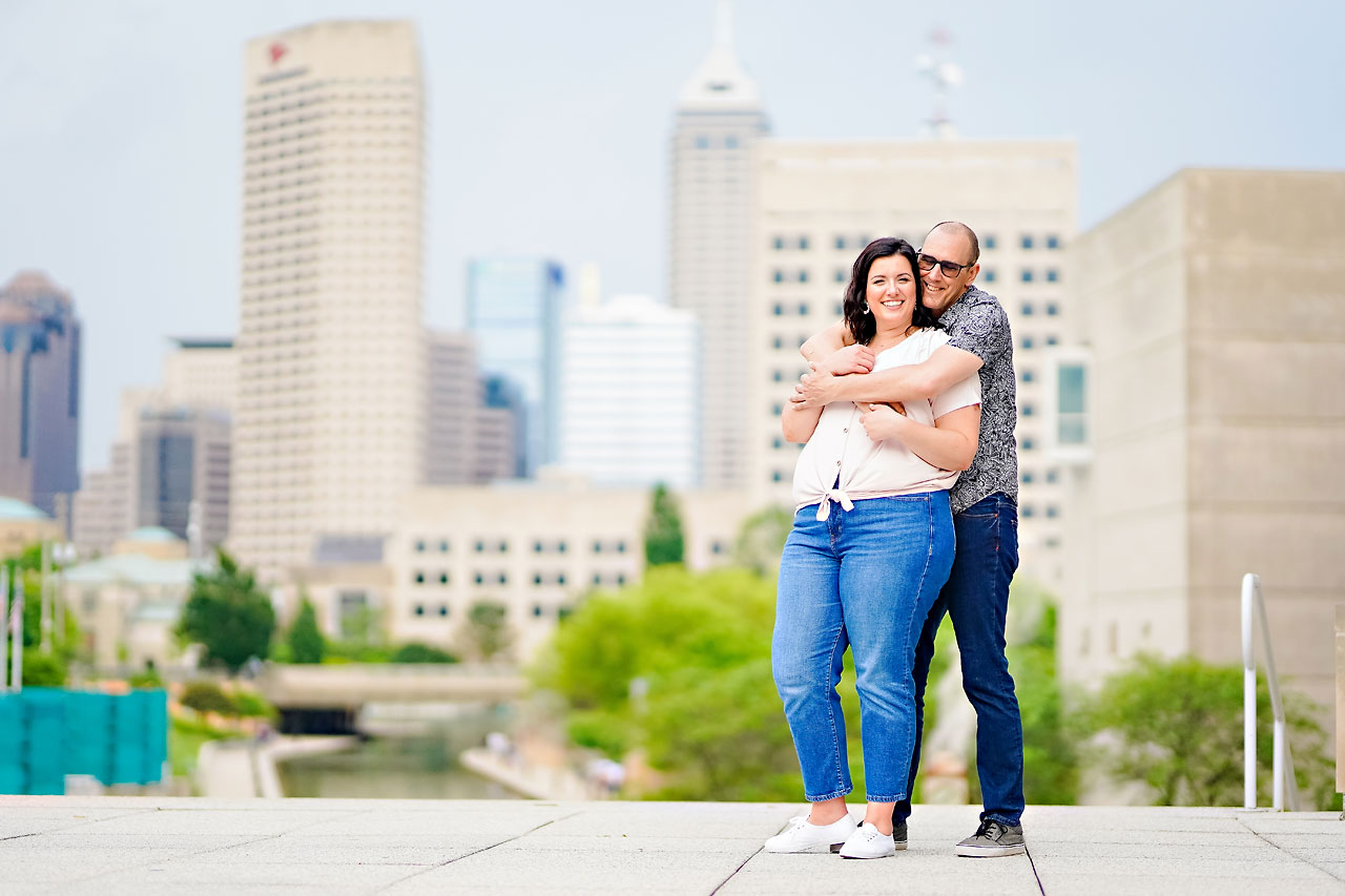 Katie Chuck Bottleworks Canal Indianapolis Engagement Session 087