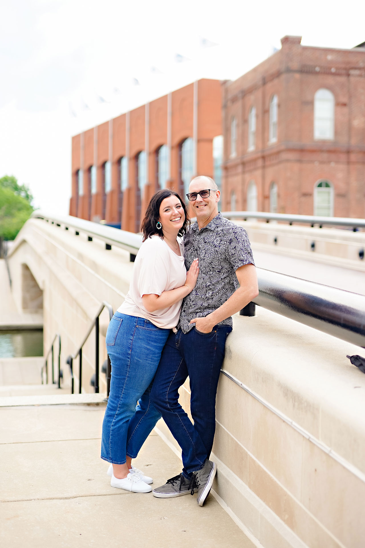 Katie Chuck Bottleworks Canal Indianapolis Engagement Session 093