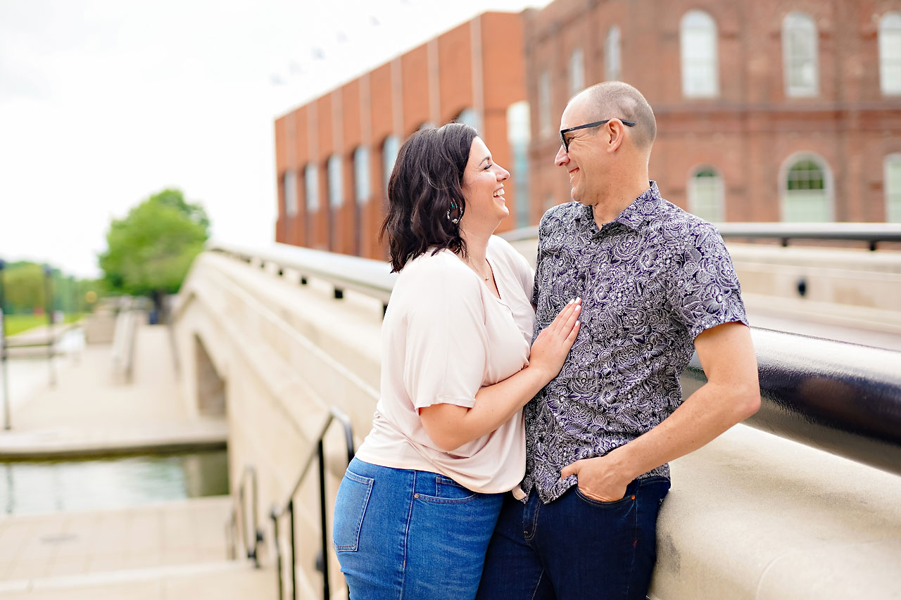 Katie Chuck Bottleworks Canal Indianapolis Engagement Session 104