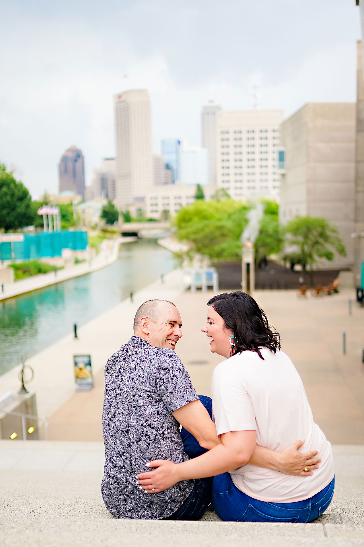Katie Chuck Bottleworks Canal Indianapolis Engagement Session 106
