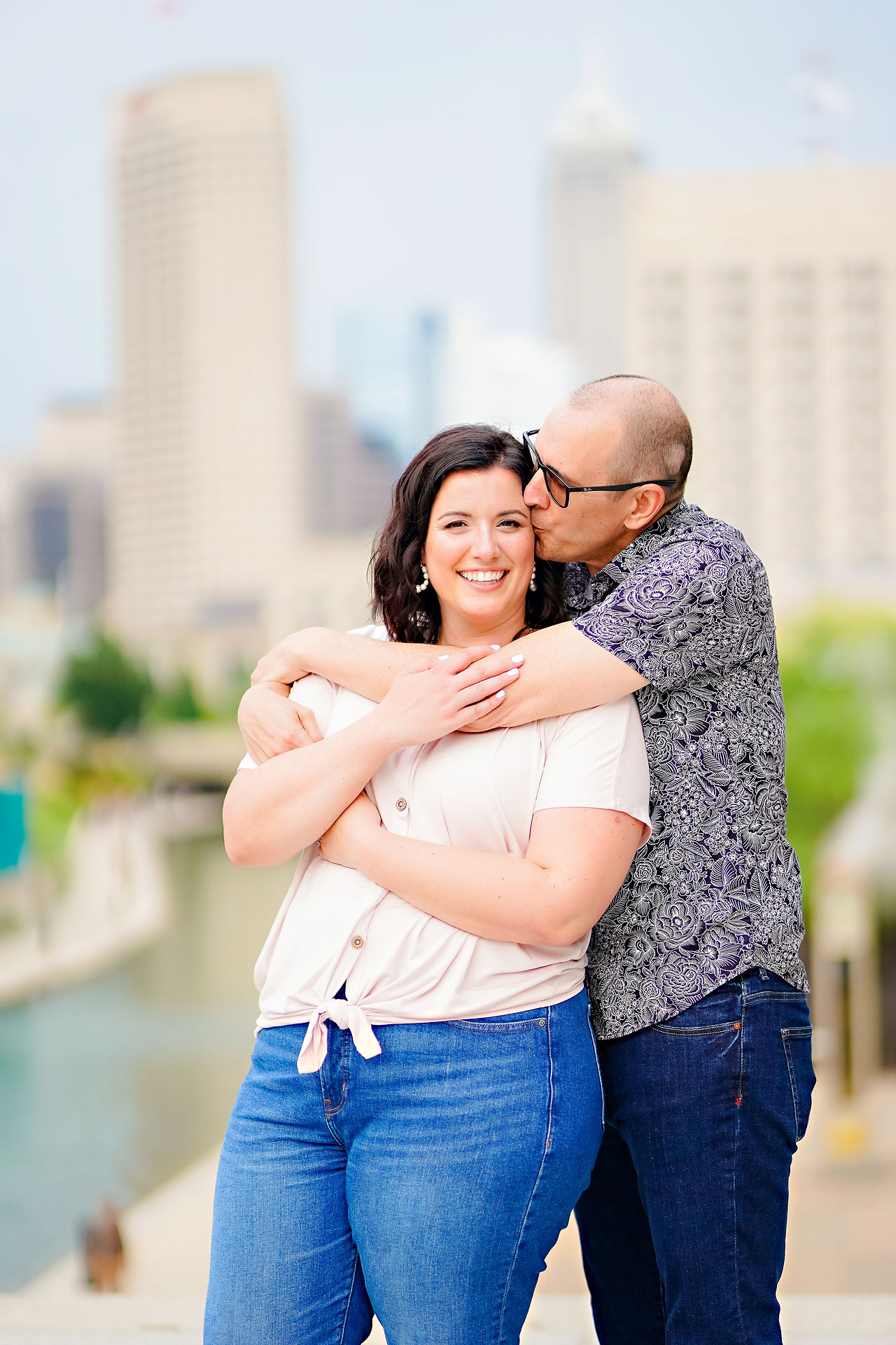Katie Chuck Bottleworks Canal Indianapolis Engagement Session 108