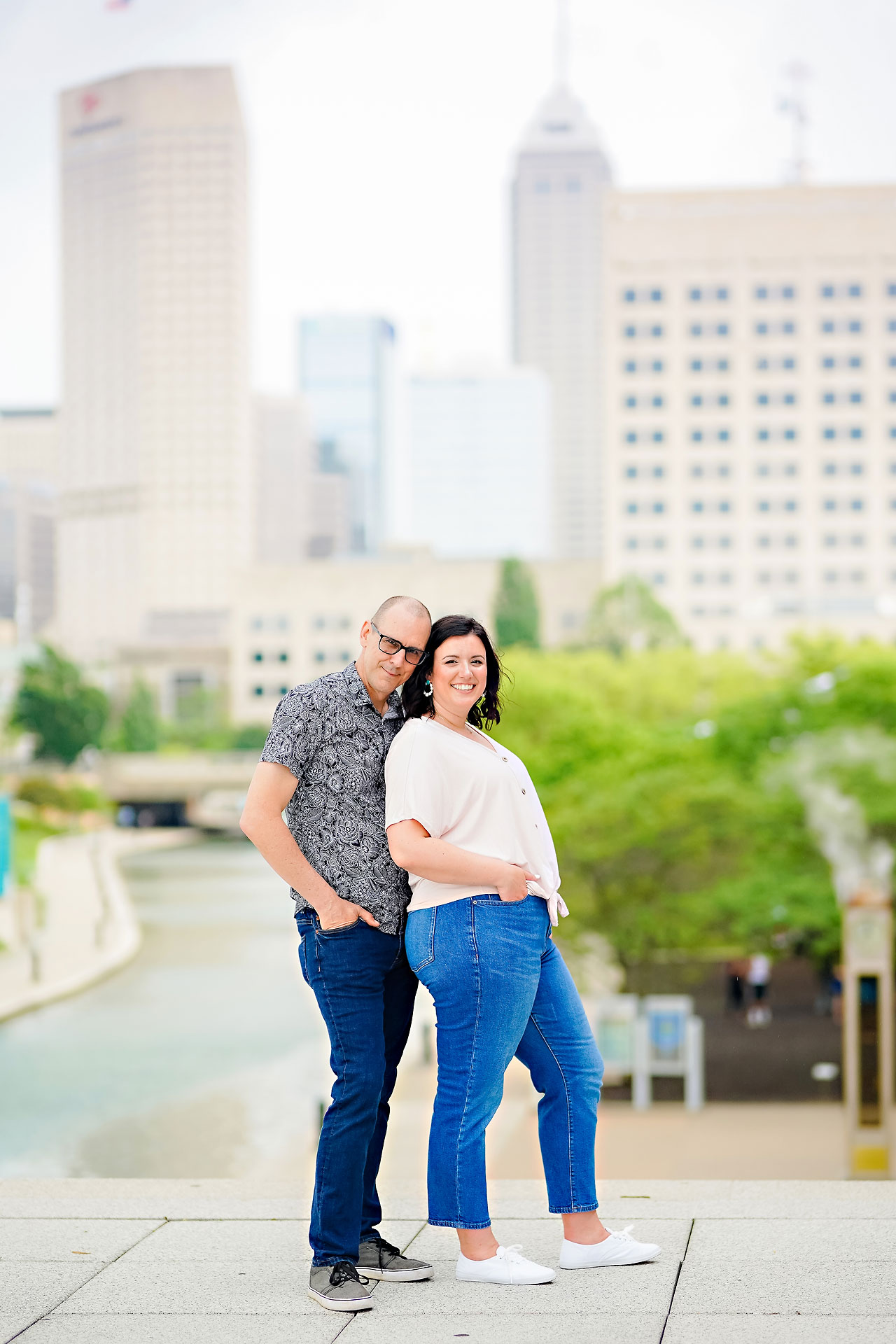 Katie Chuck Bottleworks Canal Indianapolis Engagement Session 111