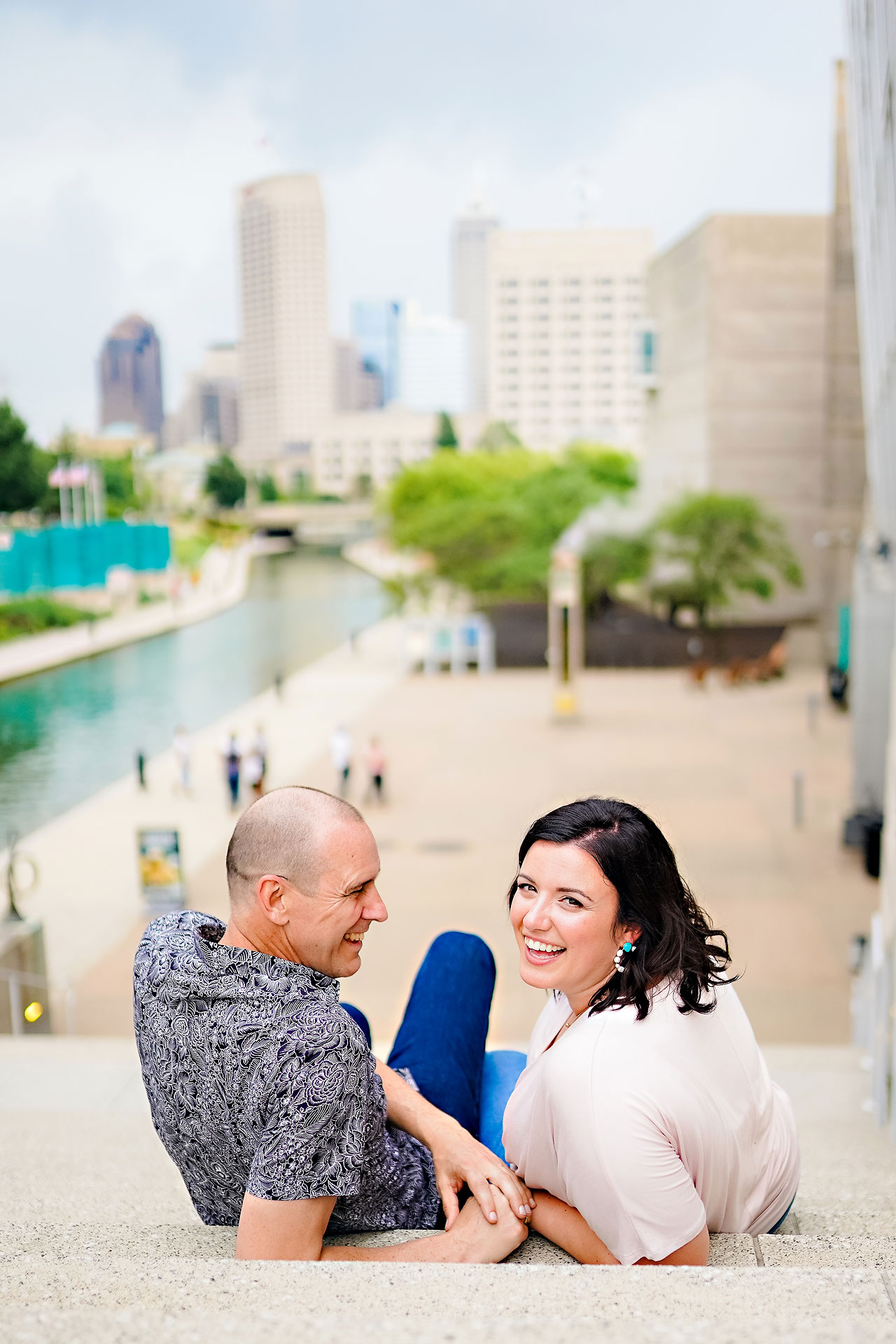 Katie Chuck Bottleworks Canal Indianapolis Engagement Session 112