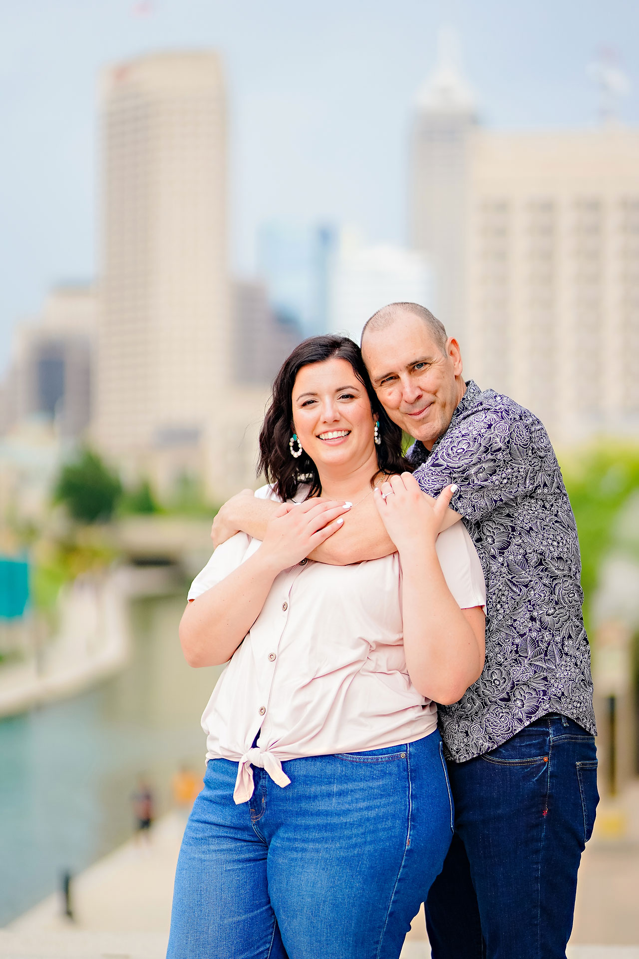Katie Chuck Bottleworks Canal Indianapolis Engagement Session 113