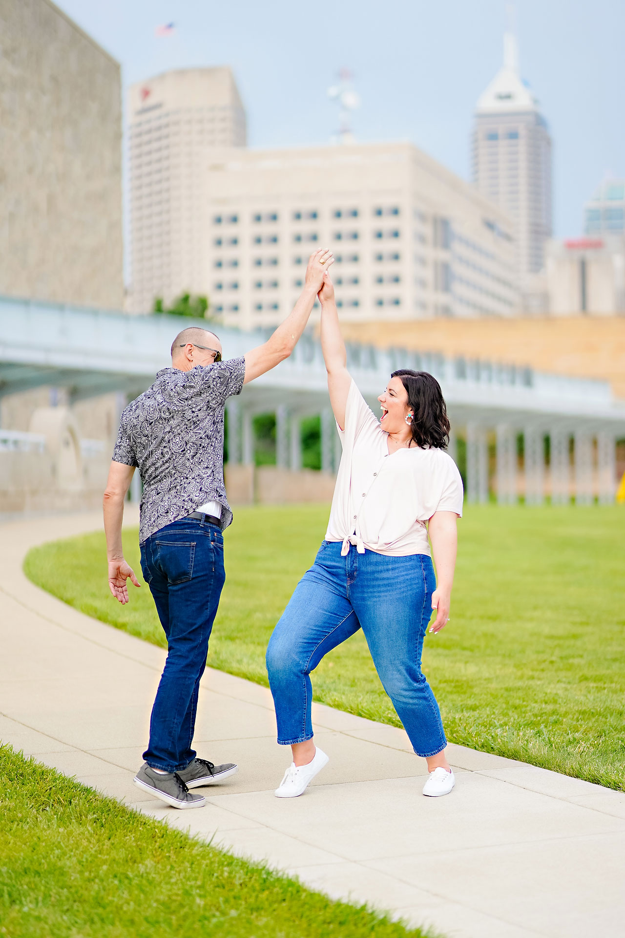 Katie Chuck Bottleworks Canal Indianapolis Engagement Session 114