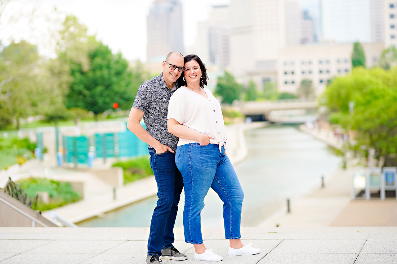 Katie Chuck Bottleworks Canal Indianapolis Engagement Session 115