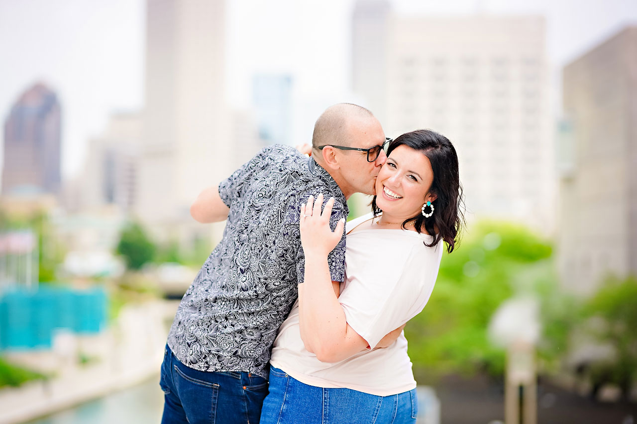 Katie Chuck Bottleworks Canal Indianapolis Engagement Session 116