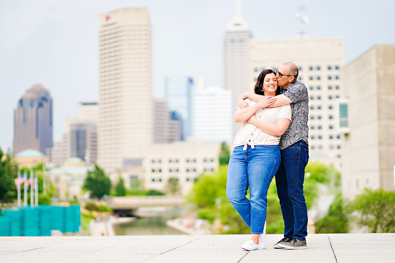 Katie Chuck Bottleworks Canal Indianapolis Engagement Session 117