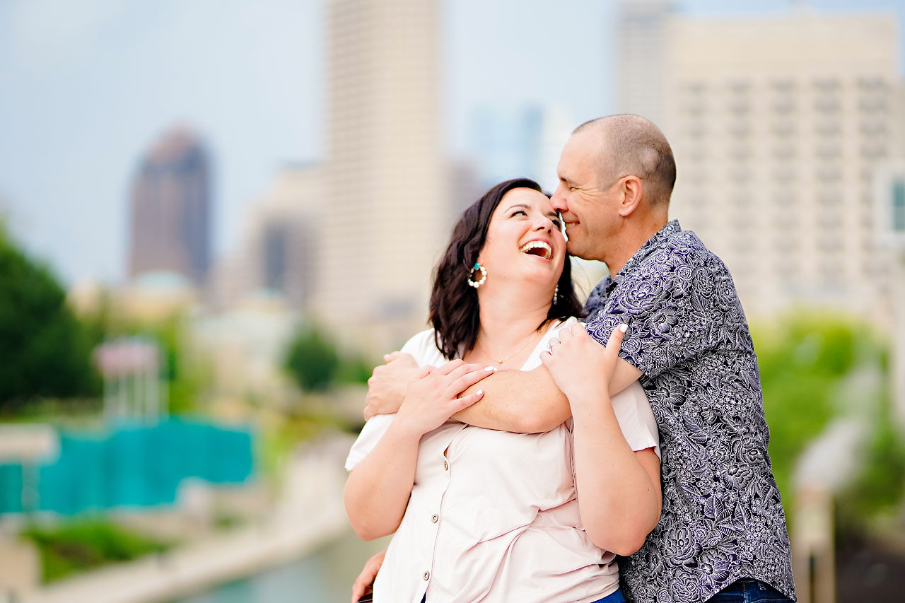 Katie Chuck Bottleworks Canal Indianapolis Engagement Session 118