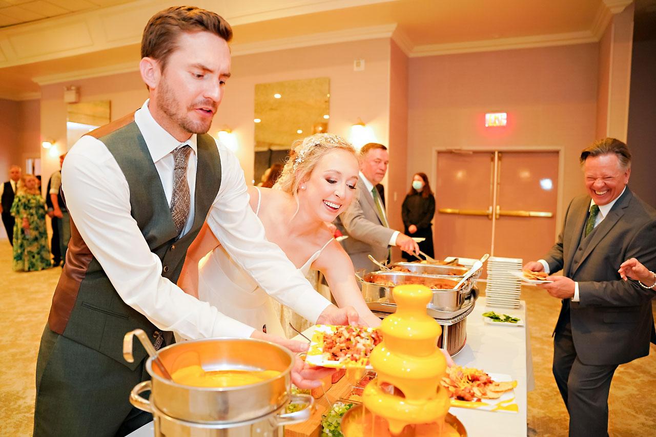 Brylie Jackson Ritz Charles Carmel Indiana Wedding Reception 141