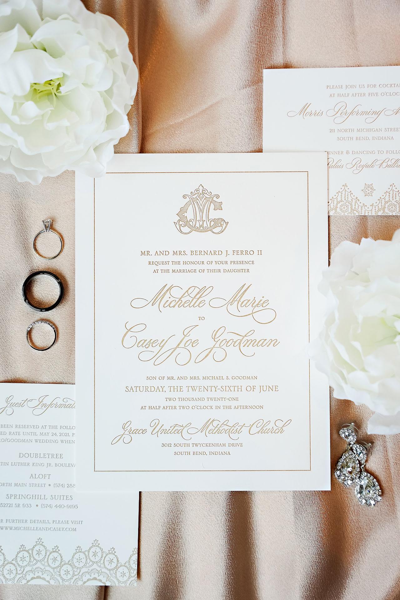Michelle Casey Palais Royale South Bend Wedding 001