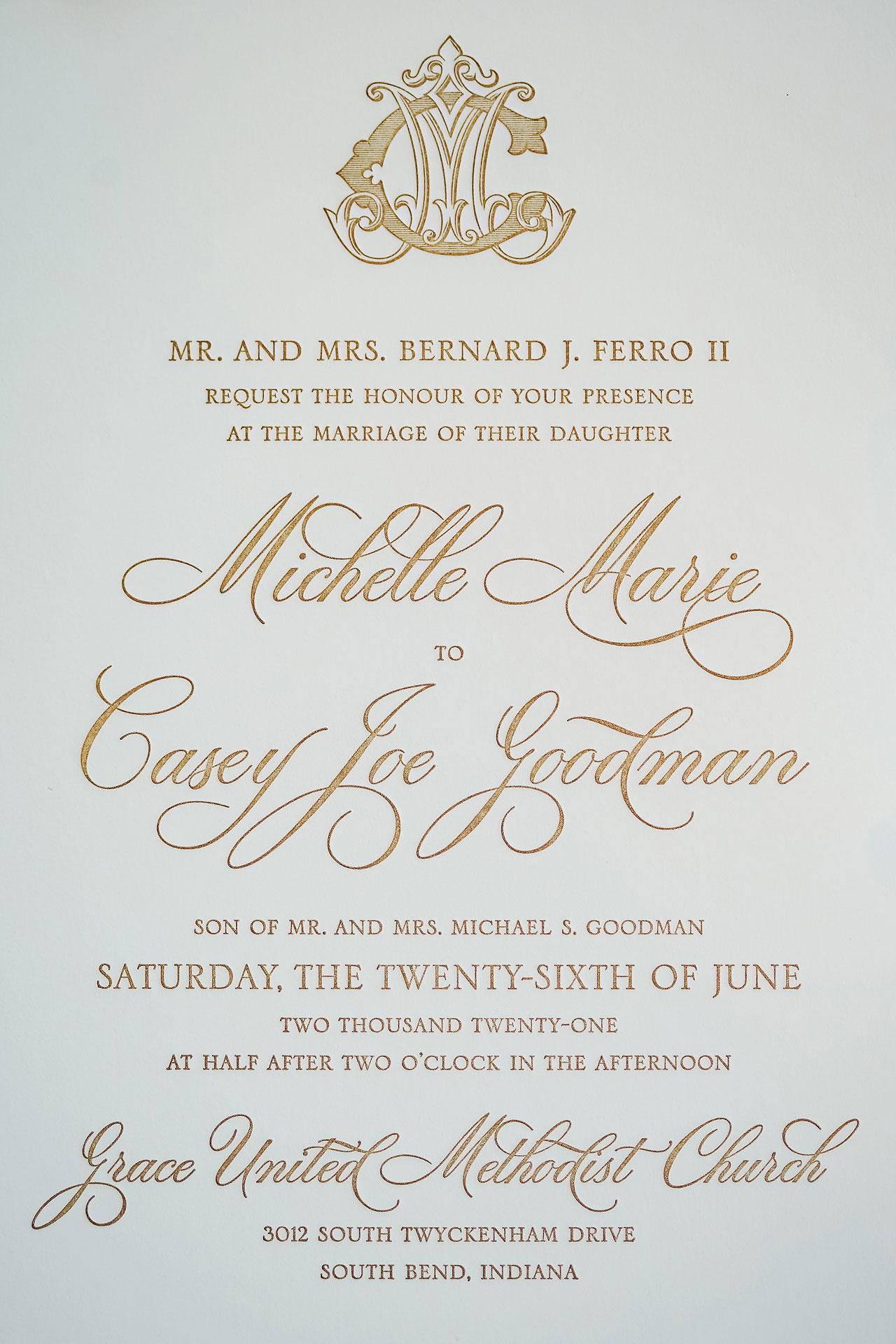 Michelle Casey Palais Royale South Bend Wedding 009