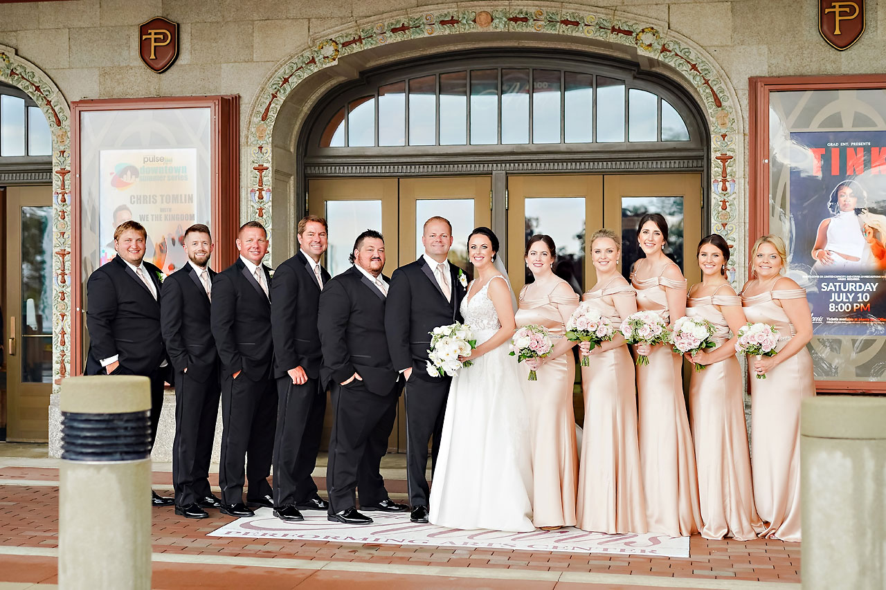 Michelle Casey Palais Royale South Bend Wedding 132