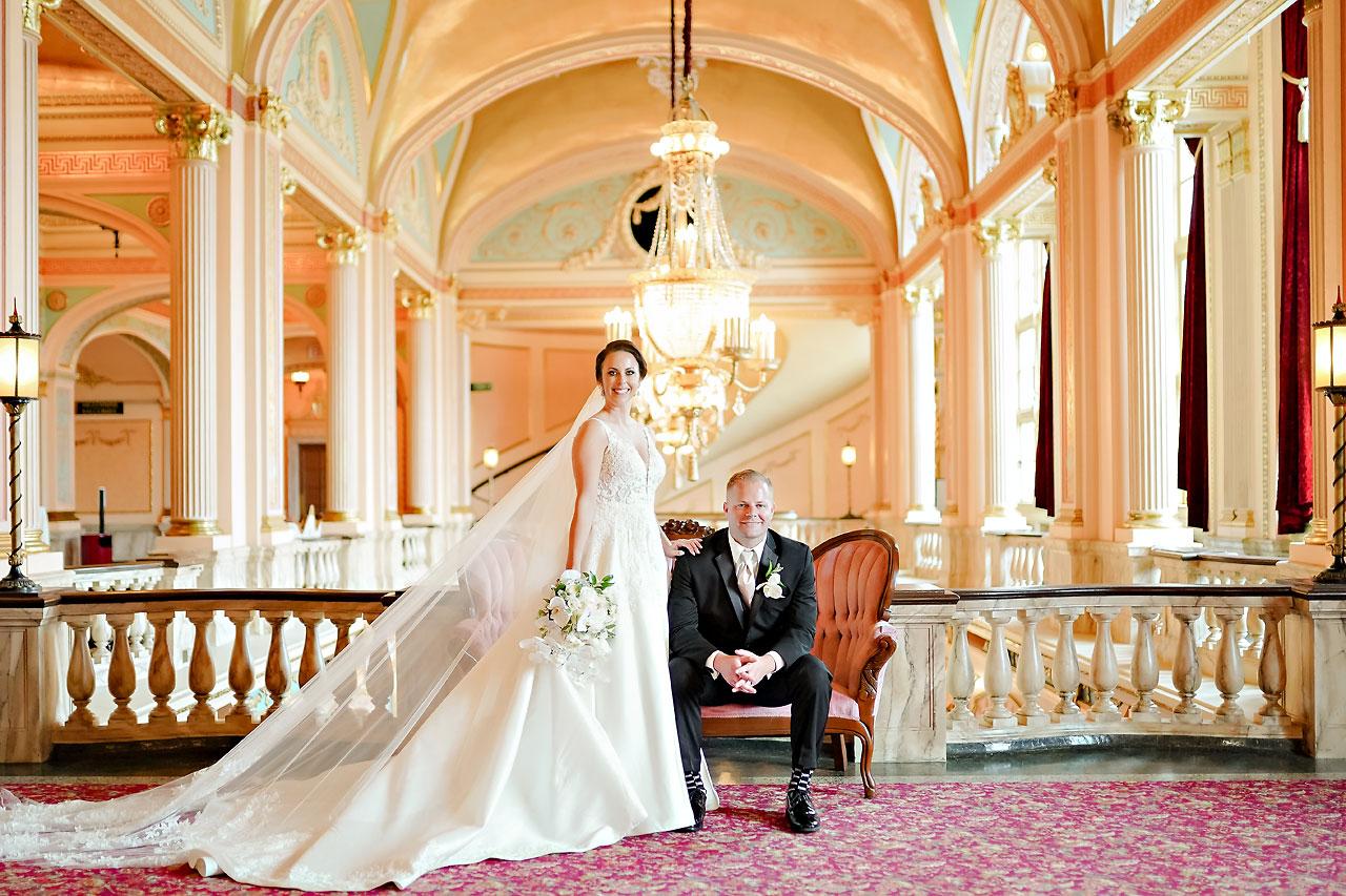 Michelle Casey Palais Royale South Bend Wedding 159