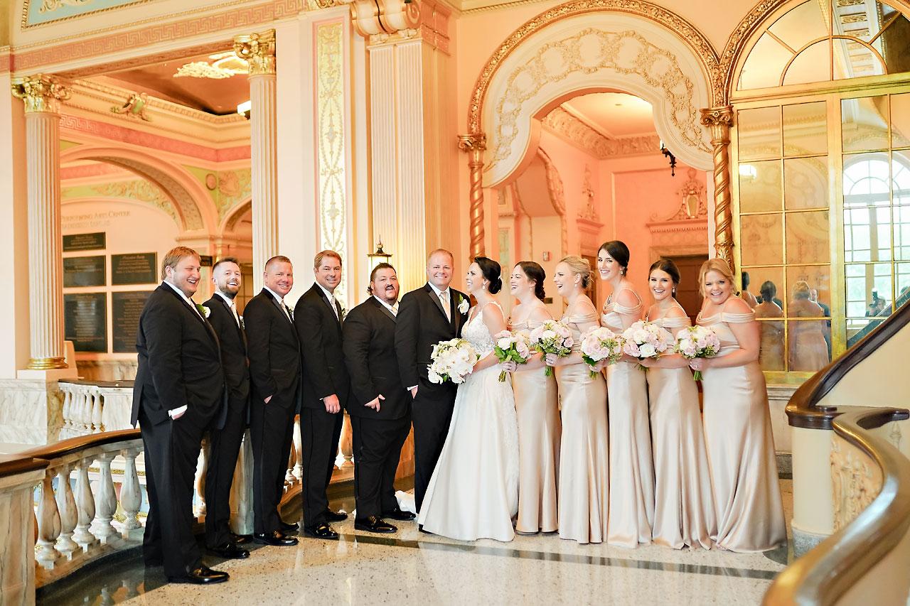 Michelle Casey Palais Royale South Bend Wedding 160
