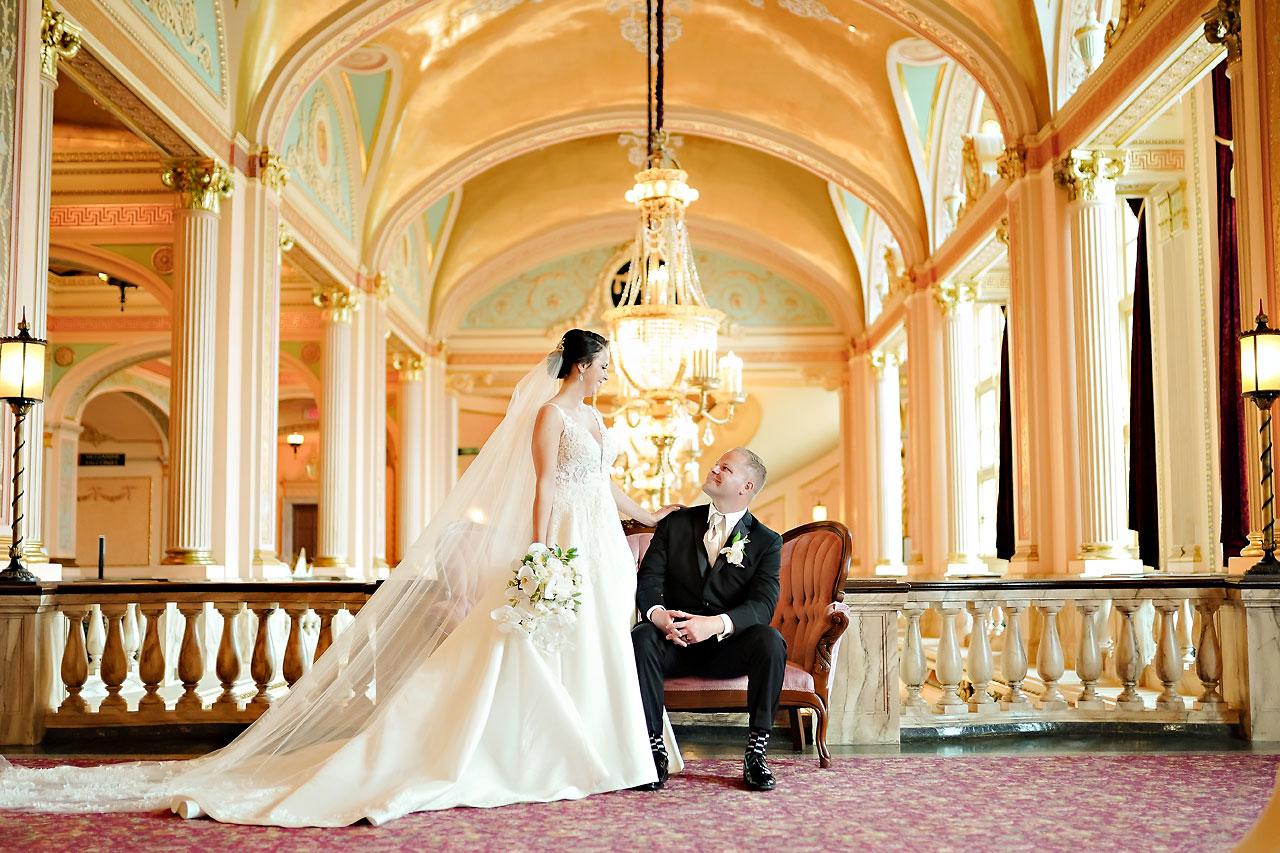 Michelle Casey Palais Royale South Bend Wedding
