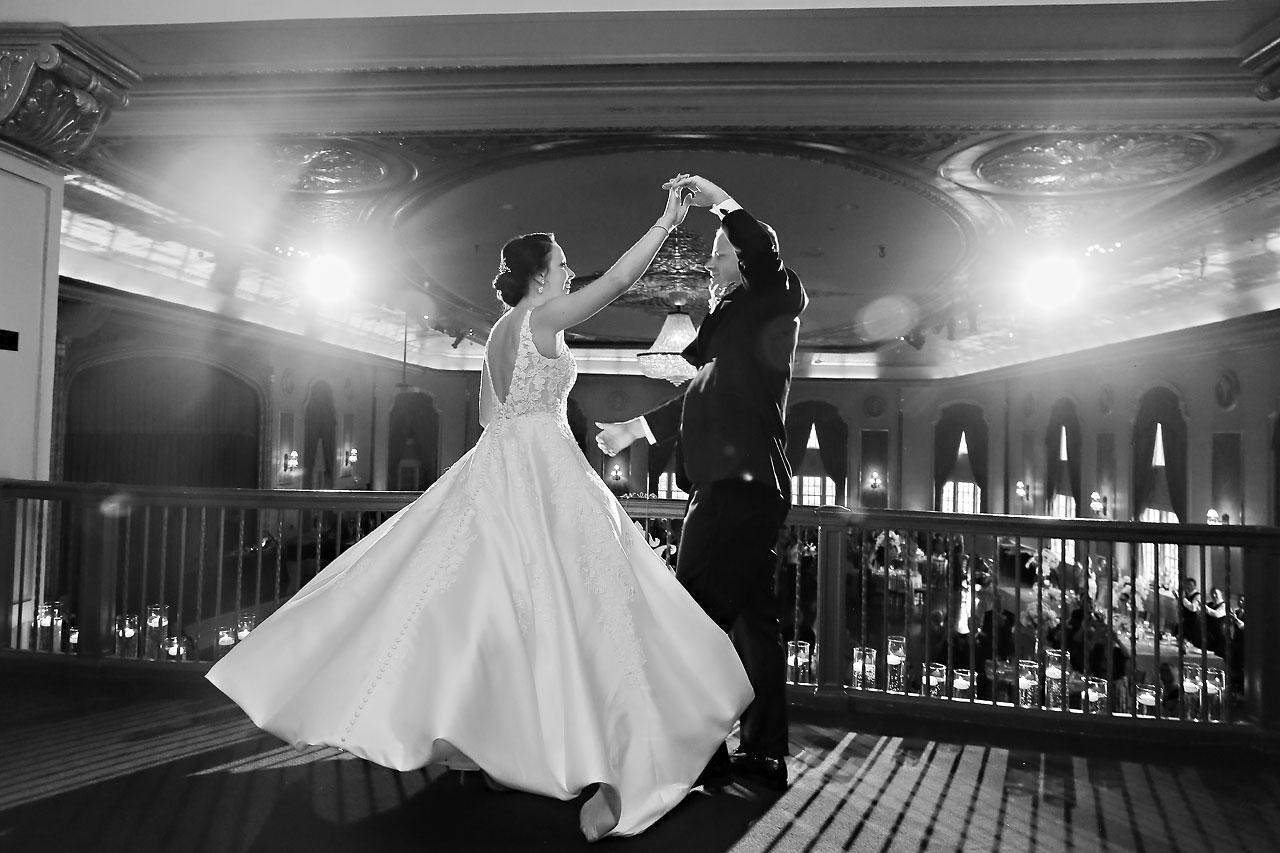 Michelle Casey Palais Royale South Bend Wedding 217