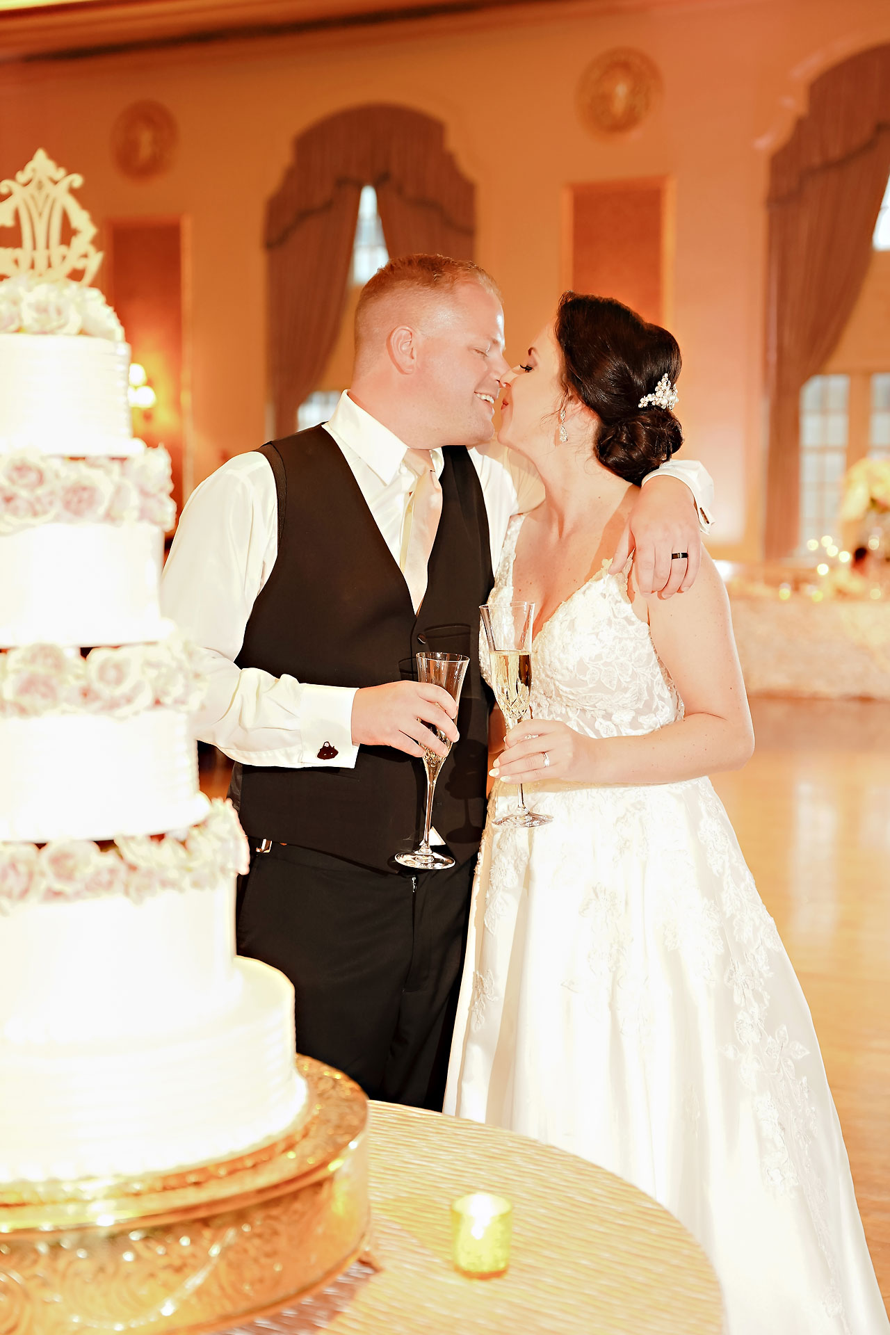 Michelle Casey Palais Royale South Bend Wedding 245