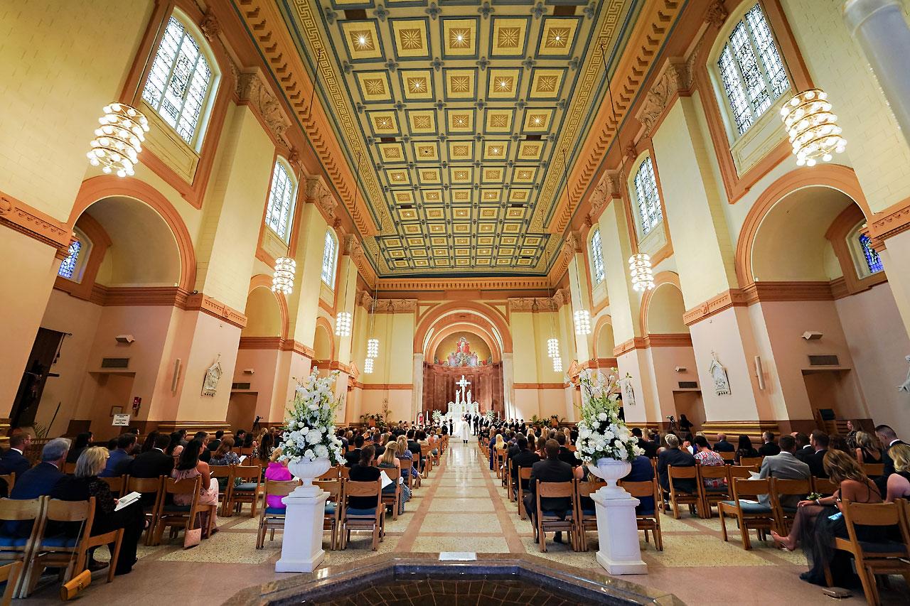 Julie Jonathan St Johns Scottish Rite Cathedral Indianapolis Wedding 081