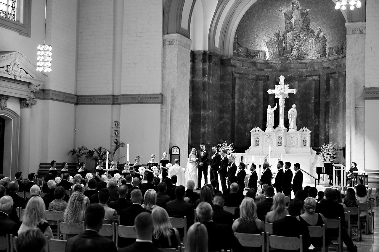 Julie Jonathan St Johns Scottish Rite Cathedral Indianapolis Wedding 082