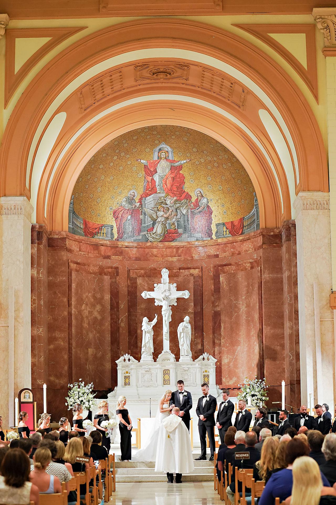 Julie Jonathan St Johns Scottish Rite Cathedral Indianapolis Wedding 083