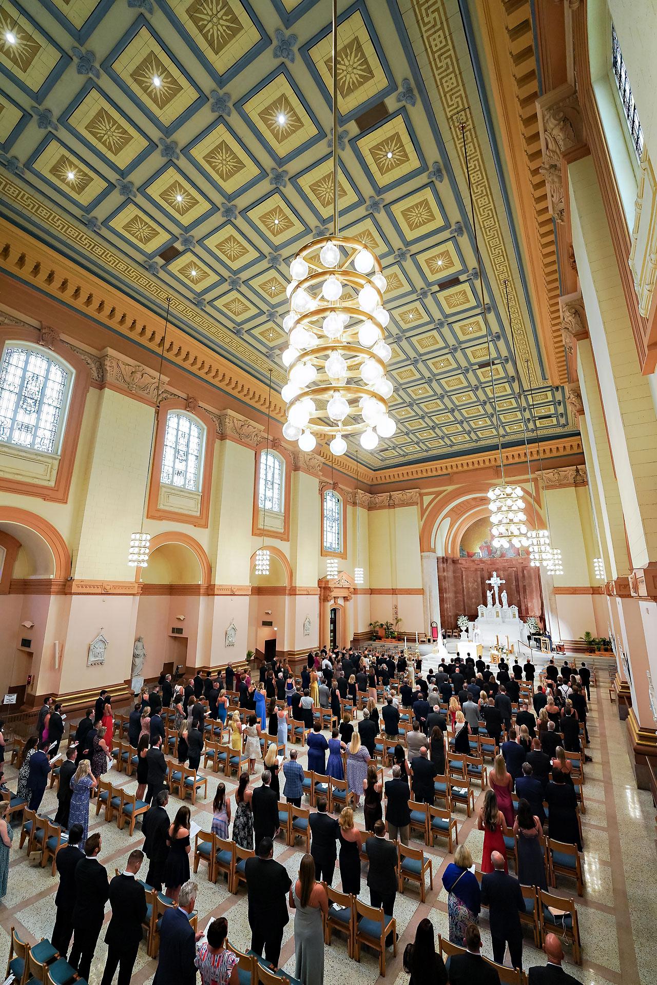 Julie Jonathan St Johns Scottish Rite Cathedral Indianapolis Wedding 084