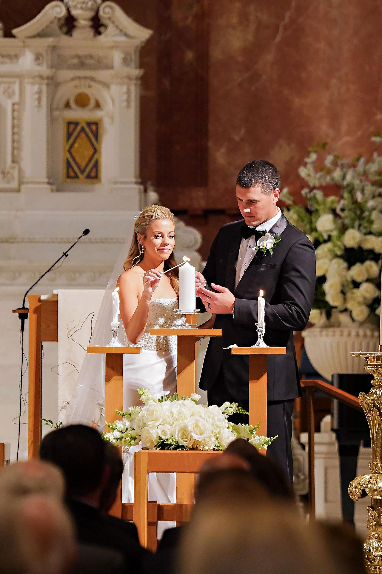 Julie Jonathan St Johns Scottish Rite Cathedral Indianapolis Wedding 085