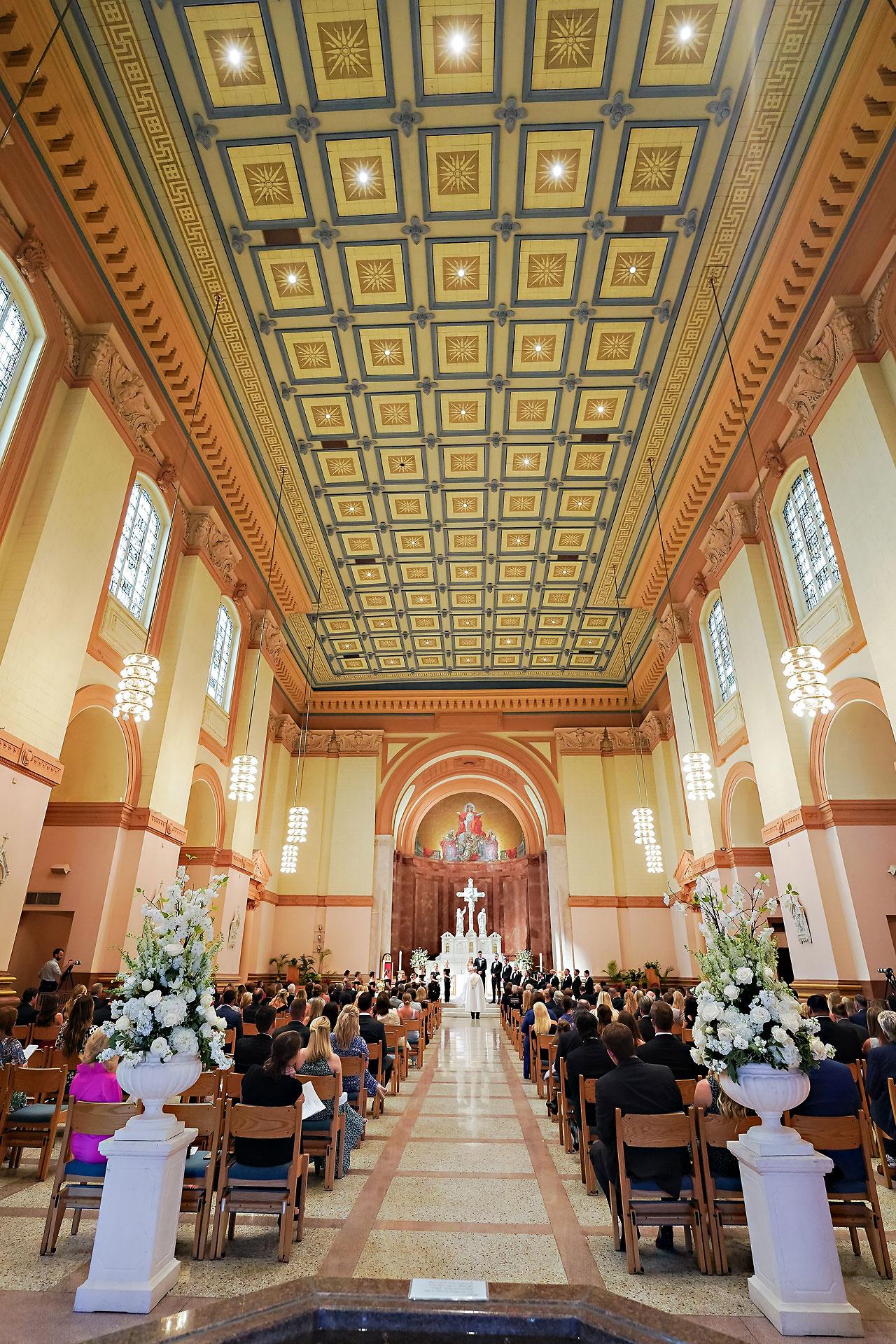 Julie Jonathan St Johns Scottish Rite Cathedral Indianapolis Wedding 086